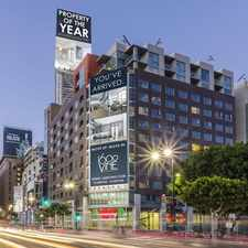 Rental info for 1600 VINE in the Central Hollywood area