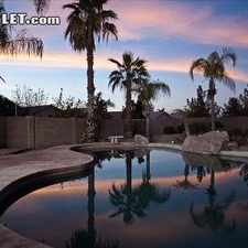 Rental info for Three Bedroom In Gilbert Area in the Chandler area