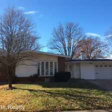 Rental info for 1475 Balmoral Dr. in the Florissant area