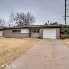 Rental info for 2825 53rd St in the Lubbock area