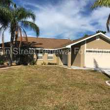 Rental info for 1409 Southeast 36th Street in the Cape Coral area