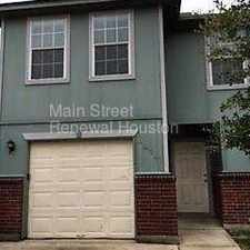Rental info for 4919 South Cancun in the Houston area