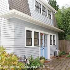 Rental info for 3015 NE 20th Ave #B in the Portland area
