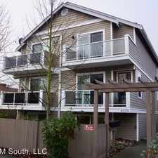 Rental info for 6329 42nd Avenue SW #A in the Seattle area