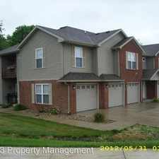 Rental info for 1123 Ravina Dr. in the Springfield area