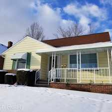 Rental info for 11611 Fordham Road in the Cleveland area