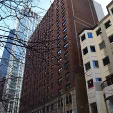 Rental info for E Delaware Pl & N Wabash Ave in the Chicago area