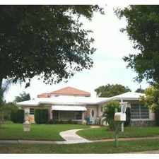 Rental info for 2101 Notre Dame Drive in the Lake Worth area