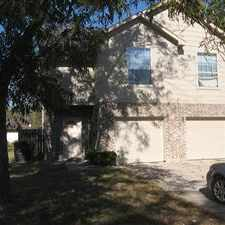 Rental info for 2008 Duplex on quite street. Fresh paint and new carpet. Dishwasher and refrigerator.SPECIAL- ONE CAR GARAGE! Great shade tree in front and large back yard to relax in. in the Houston area