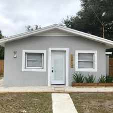 Rental info for 1010 W Grace St in the Tampa area