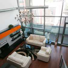 Rental info for FURNISHED ULTRA MODERN 1400 FT 2BR 2BA DUPLEX WITH BALCONY, PARKING,B DOORMAN BUILDING, 20 FT CEILINGS AVAIL FEB 28 in the Philadelphia area