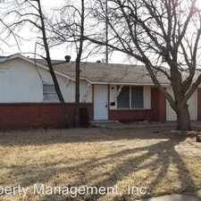 Rental info for 1919 71st St. in the Lubbock area