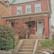Rental info for 109 East Agnew Avenue in the Carrick area