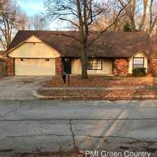 Rental info for 13809 E 27th PL in the Tulsa area