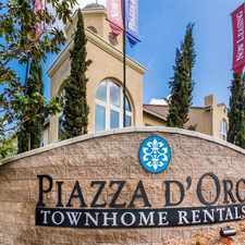 Rental info for Piazza D''Oro