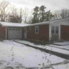 Rental info for 15 Longfellow Court Brick Township Two BR, This home located in
