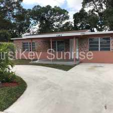 Rental info for 1345 SW 22 Ter Fort lauderdale, FL 33312 in the Fort Lauderdale area