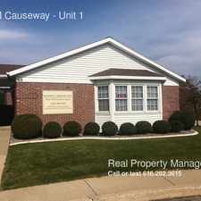 Rental info for 166 M Causeway