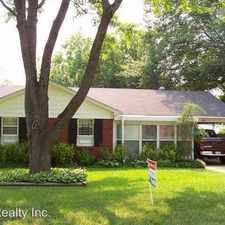Rental info for 4279 Trudy in the Memphis area