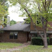 Rental info for 4010 David Dr in the Rowlett area