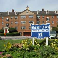 Rental info for Shaker Lakes in the Cleveland area