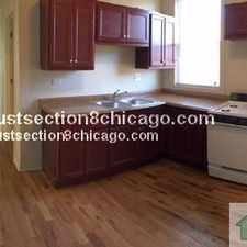 Rental info for *KARLOV/ADAMS SECTION 8 UNIT 3BDR 1BT UNIT $NO SECURITY$ SECTION 8* in the Chicago area