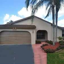 Rental info for 11521 Southwest 52nd Street in the Cooper City area