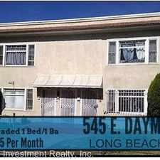 Rental info for 539 E Dayman Street in the Los Angeles area