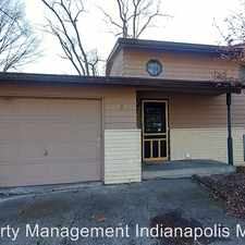 Rental info for 7932 N. Payne Rd. in the Indianapolis area