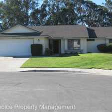 Rental info for 5273 Arroyo Ct. in the Orcutt area