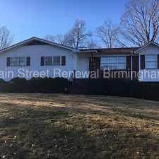 Rental info for 300 Ginger Drive Northeast in the Birmingham area