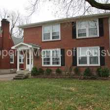 Rental info for 2BD/1BA Second Story Apartment in the Louisville-Jefferson area