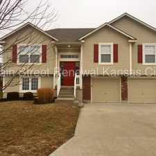 Rental info for Lovely home in Grain Valley! in the Independence area