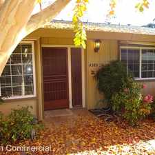 Rental info for 4389 Fair Oaks Blvd.
