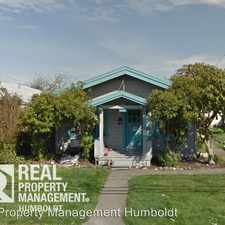 Rental info for 3315 F Street in the Eureka area