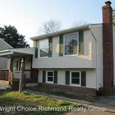 Rental info for 2704 Timberline Ct in the Chester area