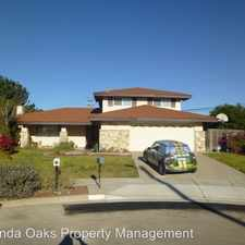 Rental info for 1035 Brookside Ave in the Orcutt area