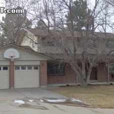 Rental info for Four Bedroom In Arapahoe County in the Aurora area