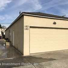 Rental info for 185 E Pleasant Street in the Bixby Knolls area