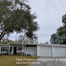 Rental info for 2255 Coldstream Dr. in the Orlando area