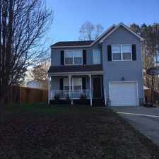 Rental info for 105 Rusty Ct.