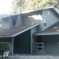 Rental info for 146 Aptos School Road