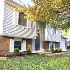 Rental info for 10209 BARIBEAU COURT in the Indianapolis area