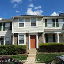 Rental info for 9616 Vinca Cir Unit C in the Newell area