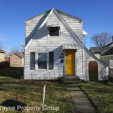 Rental info for 1812 Franklin Avenue in the Fort Wayne area