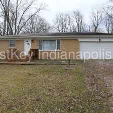 Rental info for 7935 Forest Park Drive in the Indianapolis area