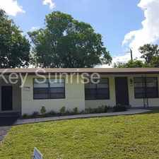 Rental info for 2840 SW 3 Court Fort Lauderdale FL 33312 in the Fort Lauderdale area