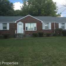 Rental info for 142 McCall St - McCall in the Glencliff area