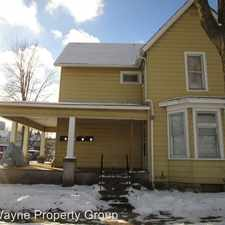 Rental info for 729 Columbia Avenue in the Fort Wayne area