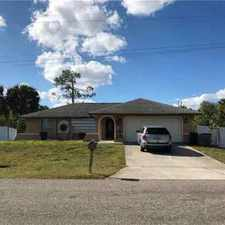 Rental info for 509 Plumosa AVE Lehigh Acres Three BR, Fully upgraded home!